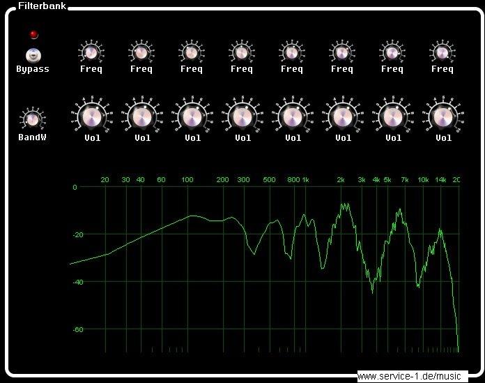 filterbank screen