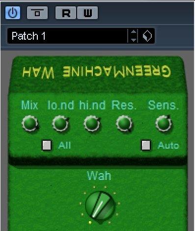 green wah wah vst