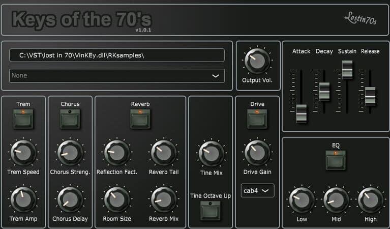 lostin70s Keys of the 70s
