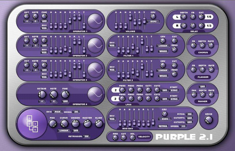 odo purple 3