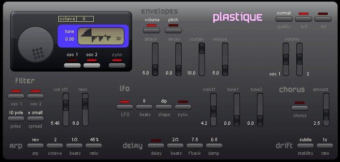 plastique 3