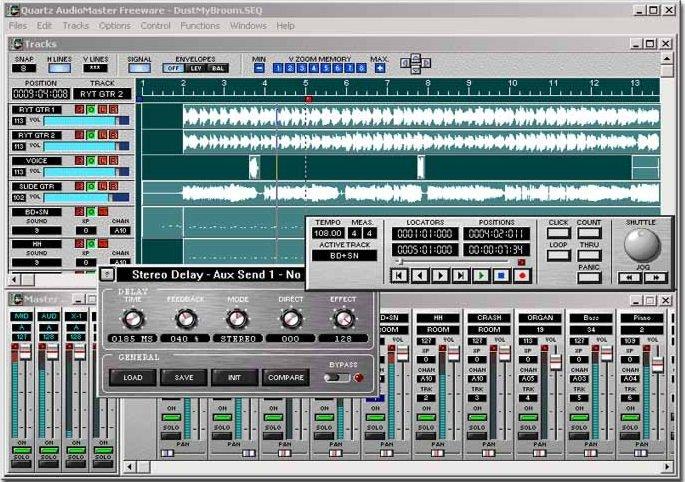 quartz audio