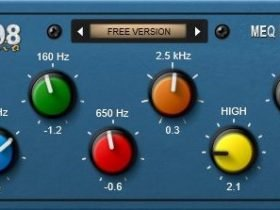 1208 Audio Plugins - MEQ
