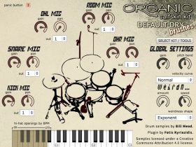 Organic Drum Loops - Organic Calfskin Kit