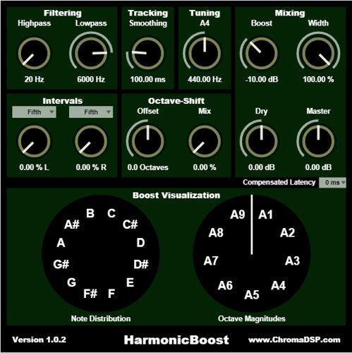 ChromaDSP - HarmonicBoost