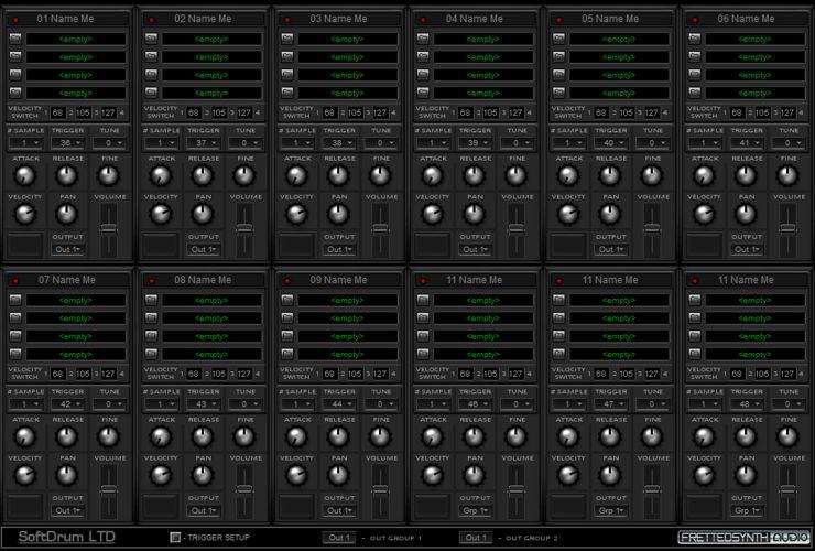 Fretted Synth - SoftDrum LTD