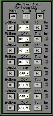 Fretted Synth - Auto MIDI