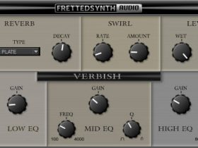 Fretted Synth - Verbish