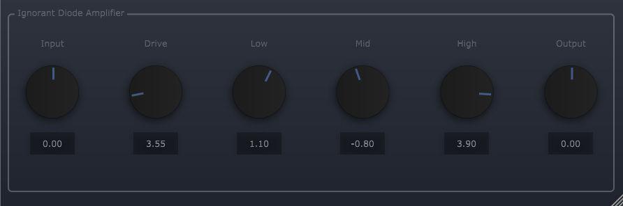 ViatorDSP Diode Amplifier