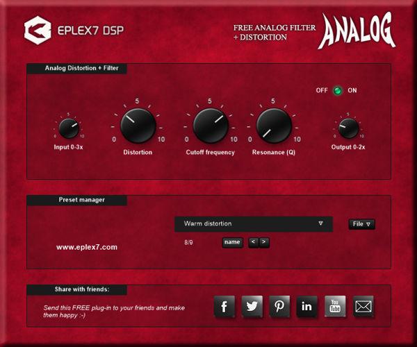 Eplex7-Analog-Filter